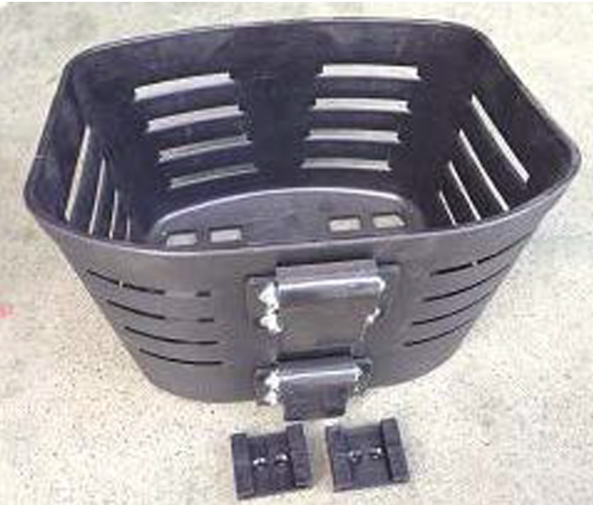Luxury Explorer Front Basket