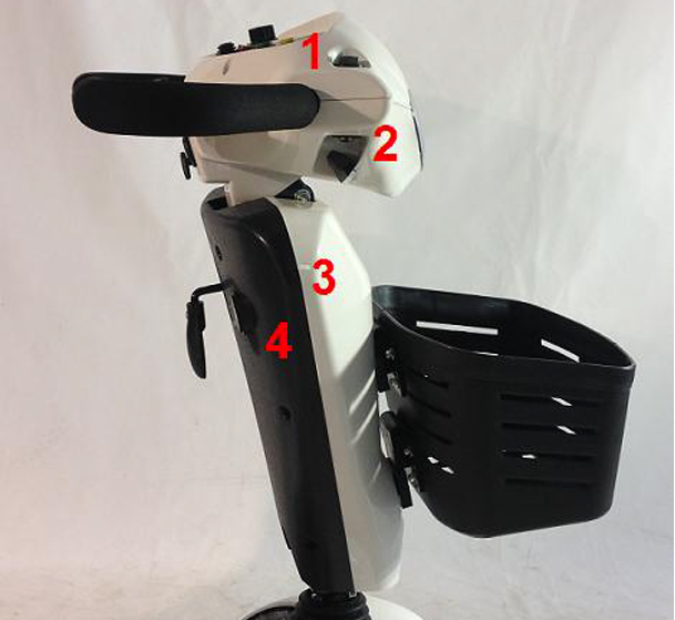Nordic Cruiser Steering Column